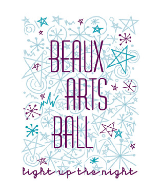 Beaux Arts Ball Logo