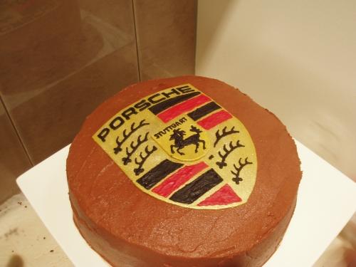Porsche Cake!