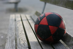 Lonely Soccer Ball