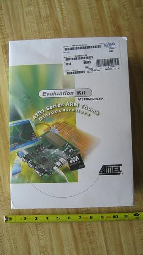 Atmel AT91RM9200-EK Box