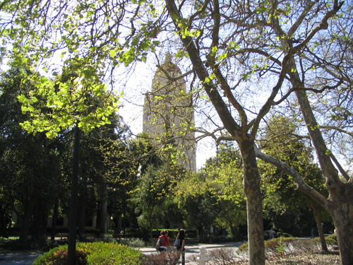 Hoover Tower in Stanford