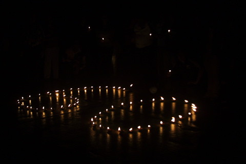 Earth hour in Fiji