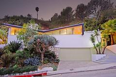 1411 Rising Glen Rd, L.A. - Built: 1955 (MidCentArc) Tags: california house losangeles palmer midcenturymodern mcm krisel