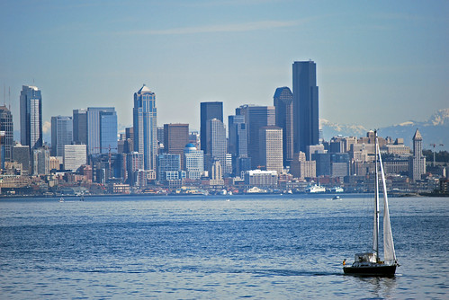 29-Downtown Seattle Sailboat