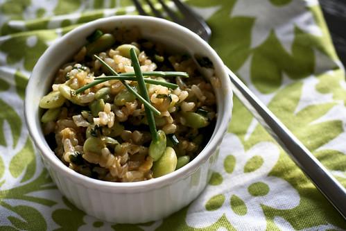 green rice & beans