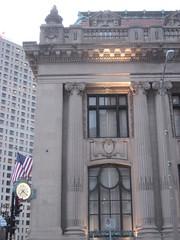 Milwaukee Bank (EMFPhoto) Tags: urban clock bank milwaukee