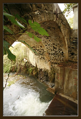 Bridge, evrychou village /     (-Filippos-) Tags: old bridge water river flow cyprus sigma apo dg 1735mm       92007   evrychou