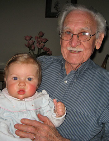 With Great Grandpa John