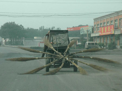 street sweeper china