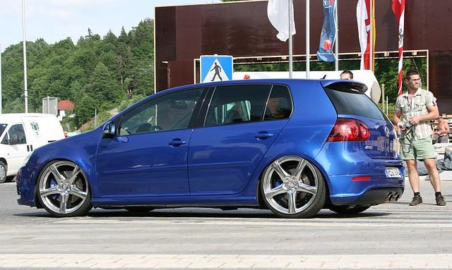 blue golf volkswagen 2008 r32 mk5 worthersee