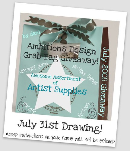 July Grab Bag Giveaway~!