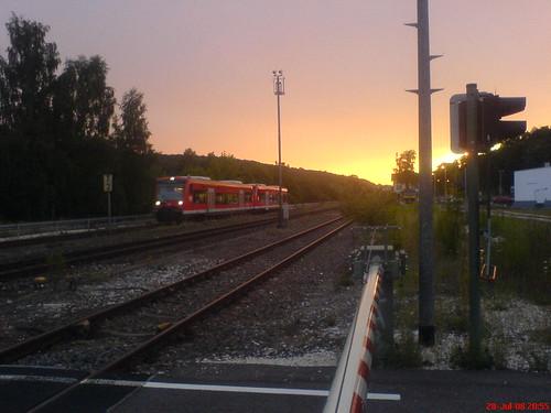 Eisenbahn bei Herrlingen