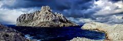 Les Goudes - Marseille (thierrybalint) Tags: goudes maire île nuages rocher méditerranée