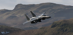 USAF Boeing F-15E Strike Eagle 91-0311 low level at Thirlmere (NDSD) Tags: low level boeing f15e strike eagle usaf thirlmere cumbria flying jet raf lake district plane aviation war machine top gun lakenheath