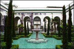 Grande Mosque de Paris (sara-maria) Tags: paris france building fountain yard garden brunnen courtyard mosque hof mosque moschee grandemosquedeparis greatmosqueofparis theunforgettablepictures