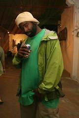 Thig aka Sharkula (fotoflow / Oscar Arriola) Tags: show chicago art graffiti opening rapper sharkula thig