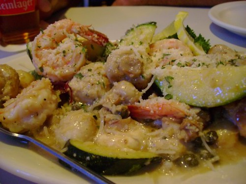 Shrimp Scampi @ Side Street Inn