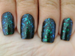 Flocado! (Ingrid Lemos (The Dreams Fashion)) Tags: nails unhas unha esmalte flocado esmaltepreto ludurana