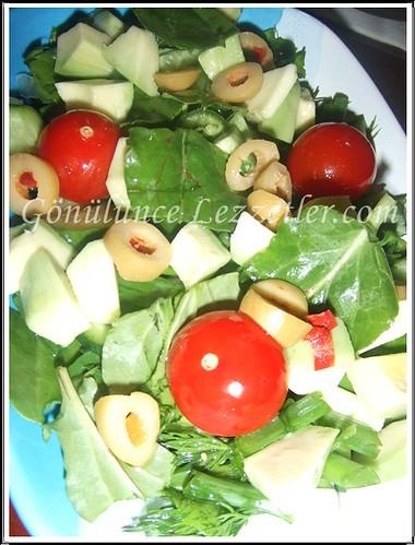 kuzu kulağı salatası 1