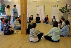 Circle of women (Leading Full Circle) Tags: toronto canada reflection circle women feminine workshop program learning conversation practice leading leadership leadingfullcircle
