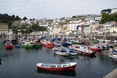 Lucarca (M Beln) Tags: espaa puerto spain barcos asturias colores m barcas pesca luarca beln