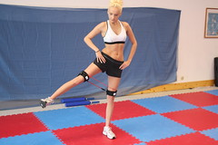 leg strength (Kinetic-Bands) Tags: legs butt hips thighs abs glutes hamstrings