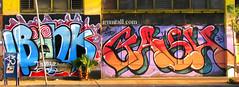 BONKS GASH (irunitall) Tags: graffiti losangeles ic al gash bonk bonks atlargecrew