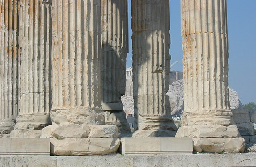 Athens - Temple of Olympian Zeus.  I call this one Superbus