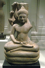 NYC - Metropolitan Museum of Art - Buddha Sheltered by a Naga
