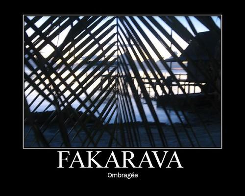 Fakarava ombragee