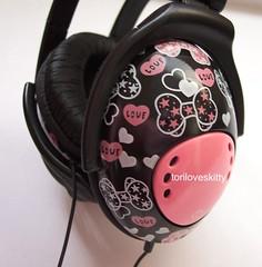Swimmer Ribbons Headphones (toriloveskitty) Tags: music japan hearts tokyo ribbons kawaii swimmer headphones