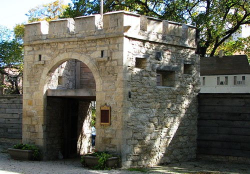 Upper Fort Garry Gate