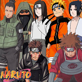 The Men of Naruto by Keiko_the_Wanderer.