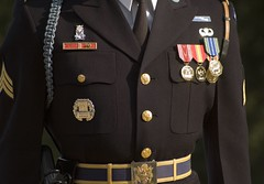 Tunic (Cocoabiscuit) Tags: arlington soldier uniform military arlingtonnationalcemetery changingoftheguard cocoabiscuit