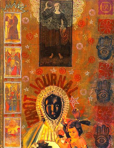 tarot journal front cover