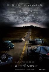 Poster The happening M Night Shyamalan
