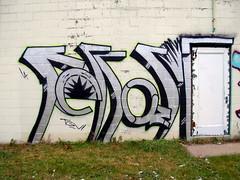 ferrari (ExcuseMySarcasm) Tags: urban streetart art graffiti grafiti graf detroit ferrari graffito throwup graffitis justo