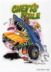 rat fink ed big daddy roth chevys rule (brocklyncheese) Tags: roth daddy ed big rat fink