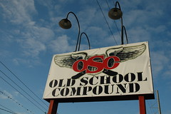 Old School Compound Sign