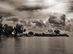 Ile St.Marie (bass_nroll) Tags: sea sky nature beauty sepia clouds contrast canon ile palm tropic madagascar palme isola g7 ilestmarie anawesomeshot superaplus aplusphoto madagascar07