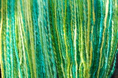 Handspun sock yarn, part deux