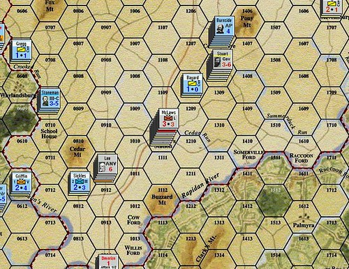 Burnside Takes Command - Battle of Mitchell's Station 1/7