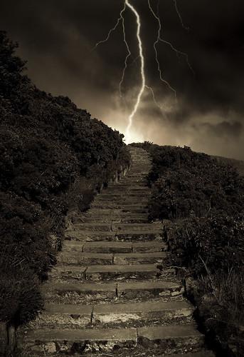 Arthur's Stormy Steps