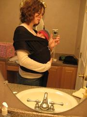 I'm pregnant again