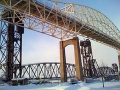 international bridge (kayakwoman54) Tags: saultstemarie internationalbridge