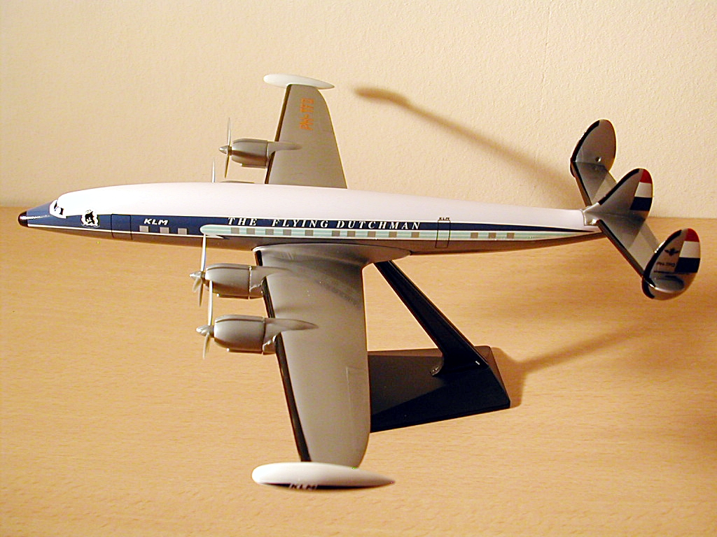 KLM - Royal Dutch Airlines Scale 1-125 model Lockheed L-1049 Super Constellation PH-TFQ #1B