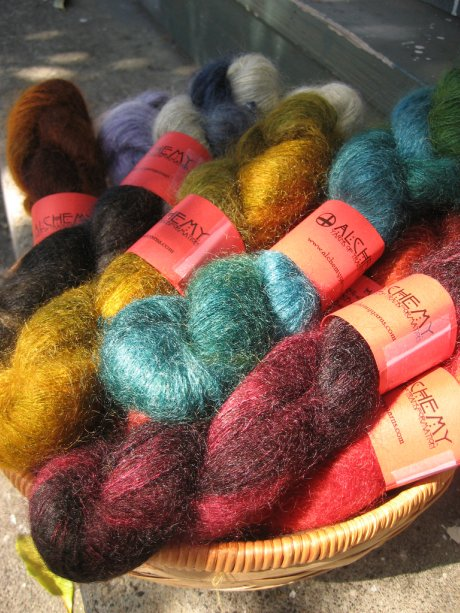 Alchemy Yarns Haiku