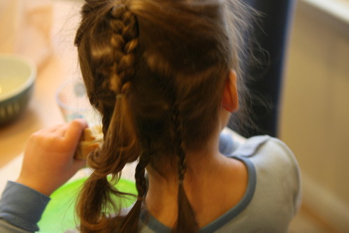 crazy braided hair