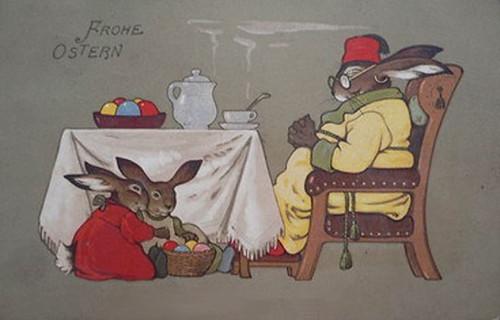 Osterkarte - Easter postcard