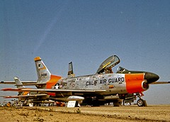 North American F-86L Sabre 15 May 1960 (Lance & Cromwell) Tags: old plane war aircraft military airplanes jet sabre planes northamerican oldplanes warplanes f86l californiaairnationalguard